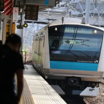JR与野駅で撮り鉄2017