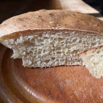 自家製天然酵母国産小麦パンのメモ。後編。