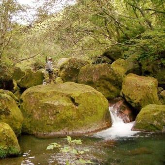 北海道秘境の滝