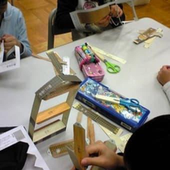 京都府の耐震出前授業(井出小学校)
