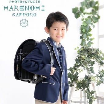 4/4 入学記念撮影・兄弟一緒もね♫ 札幌写真館ハレノヒ