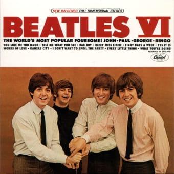 英国オリジナルが一部とはいえ、アメリカ編集盤の後を追う・・・ ~ US編集アルバム『Beatles VI』