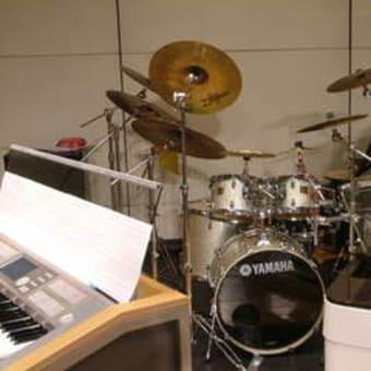 overtureでのドラムセット