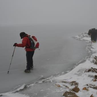2020年1月 くじゅう御池 結氷状況