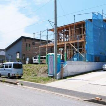 Newプロジェクト!!一宮町東浪見 Fさんファミリーの『 サーフライフHouse  』⌂Made in 外房の家。は無事上棟完了!!&色々諸々ありつつ。。概ね大工工事順調進行中!です。