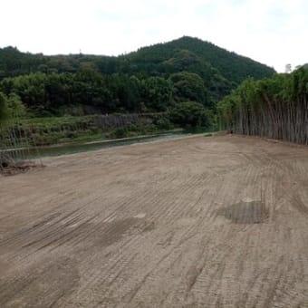家和楽の久慈川工事