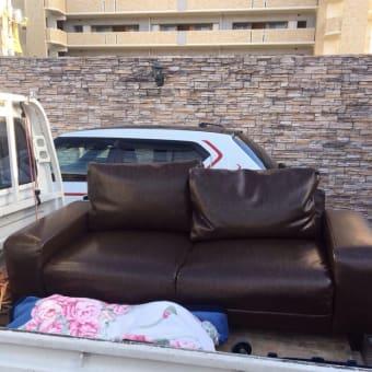 ソファーの回収