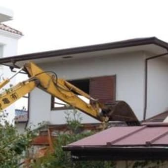 事務棟の解体工事