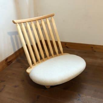 白いゆらゆら座椅子を作りました