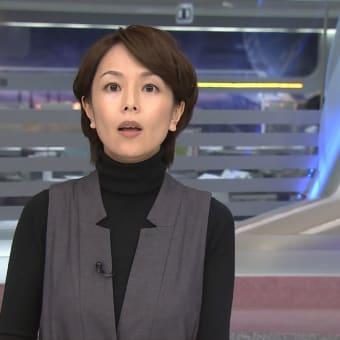 武内絵美 ANNニュース 13/02/12