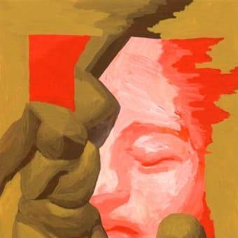 「サロン」展示11(アクリル画)