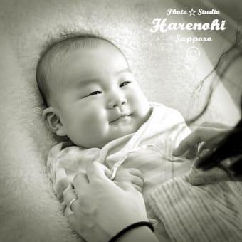 4/22 自然な笑顔撮影 札幌写真館ハレノヒ