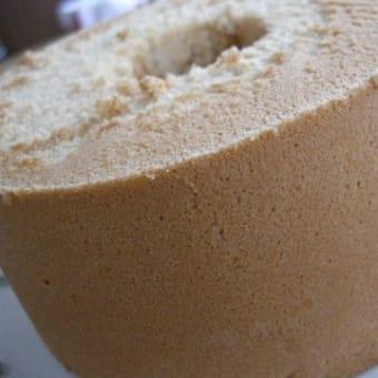 メープルシロップのシフォンケーキ