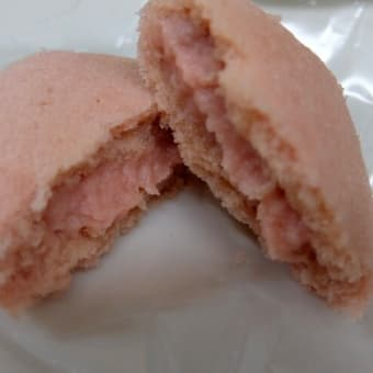 <sweets>あけぼの 銀座いちご+ファウンドリー 国産林檎のチョコレートサブレ