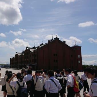 横浜に着きました