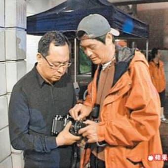 チョウ・ユンファ ジョニー・トー監督を訪問