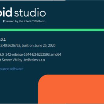 Android Studio 4.01をLinux UbuntuStudioで立ち上げてみました