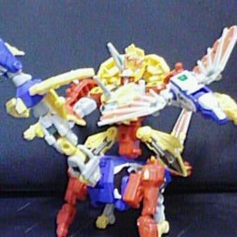 剣聖獣合体