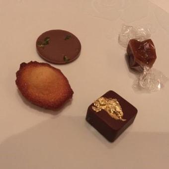 ル・ブリストルパリ「エピキュール」にてディナー♪