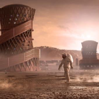 3Dプリントで火星に家を!