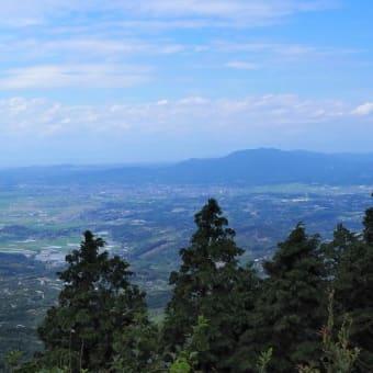 二の岳・三の岳は初秋の風