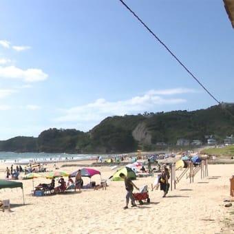 「やっと東海・関東甲信梅雨明け」ビーチは?「海水浴客7割減」