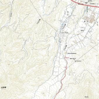 札幌岳豊滝コースのGPSトラック