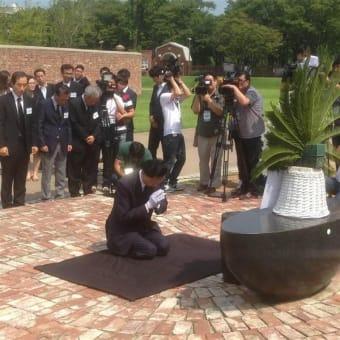 鳩山氏が元総理という肩書きで韓国に謝罪を繰り返せば