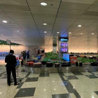 シンガポール航空エコノミークラス機内食*関空→シンガポール