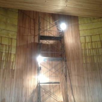 礼拝堂の壁とか天井とか