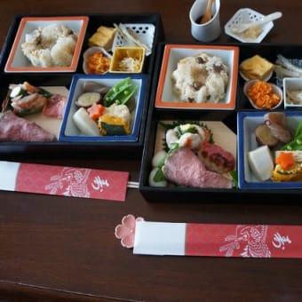 松花堂弁当をつくりました。