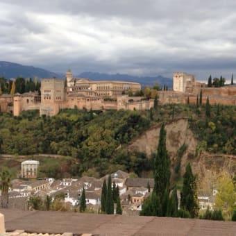 スペイン旅行パルセロナ&グラナダ