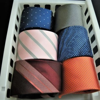 ネクタイは雨が苦手
