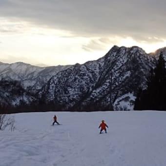 お正月は念願のスキー!!