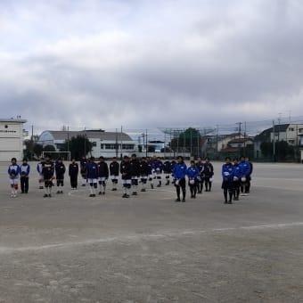 中学ソフトボール 冬季リーグ戦 審判