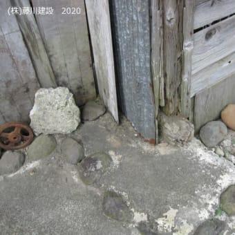 古民家の床下 床が低くても風が通る知恵