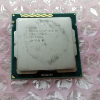 CPUを換装する。