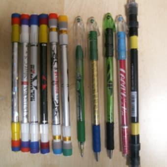 愛用ペンの数々