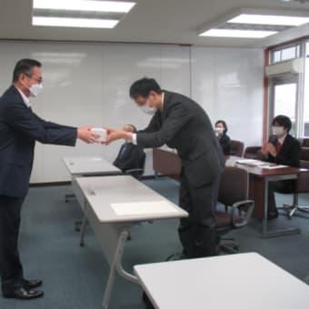 勤労障害者及び障害者雇用優良事業所の表彰式を開催しました