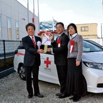 岡本宏之さん(印南町)が「幸美号」(献血運搬車)寄贈  父・崇さんの遺志を継ぎ7台目 〈2020年1月22日〉