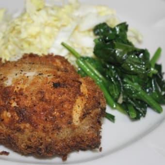 鶏の胸肉チーズはさみ揚げ