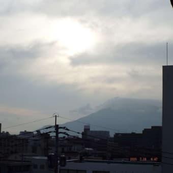 2020年07月19日(日) 雲の多い晴れ、のち、断続的に雨(一時、強雨)。