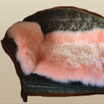 ムートンフリース2枚つなぎのピンクが豪華すぎる!! ムートン王国