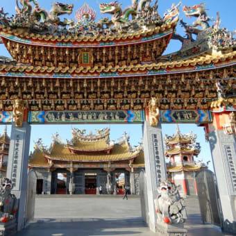 異国情緒が味わえるという、五千頭の龍が昇る聖天宮に行ってみました。