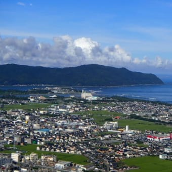 愛宕山の景色