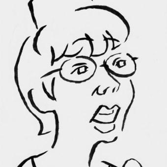 平野レミ(早描き用の似顔絵)