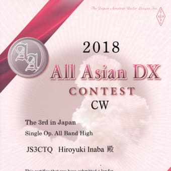 AACW2018 certificate
