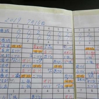 2019全国高校野球選手権山口大会1回戦「宇部鴻城対萩」