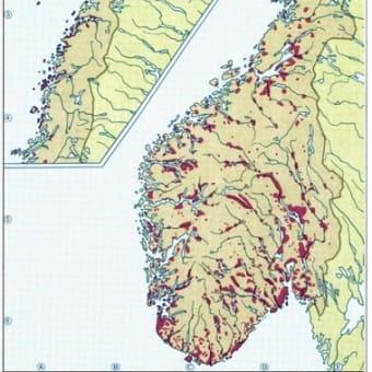 地図(ノルウェー)