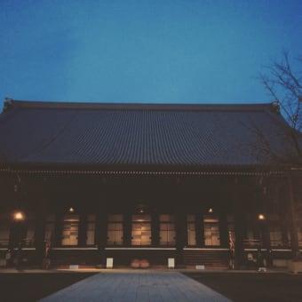 西本願寺朝6時半
